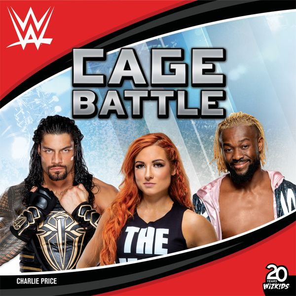 WWE Cage Battle, WizKids, 2020 — front cover (image provided by the publisher)