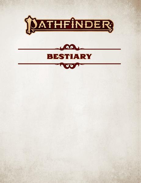 Pathfinder Bestiary (2nd Ed) | Image | BoardGameGeek
