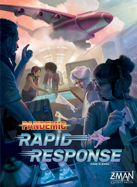 Pandemic: Rapid Response Cover