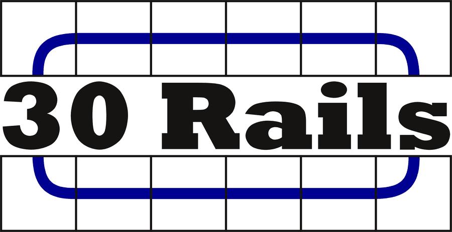 30 Rails - Logo