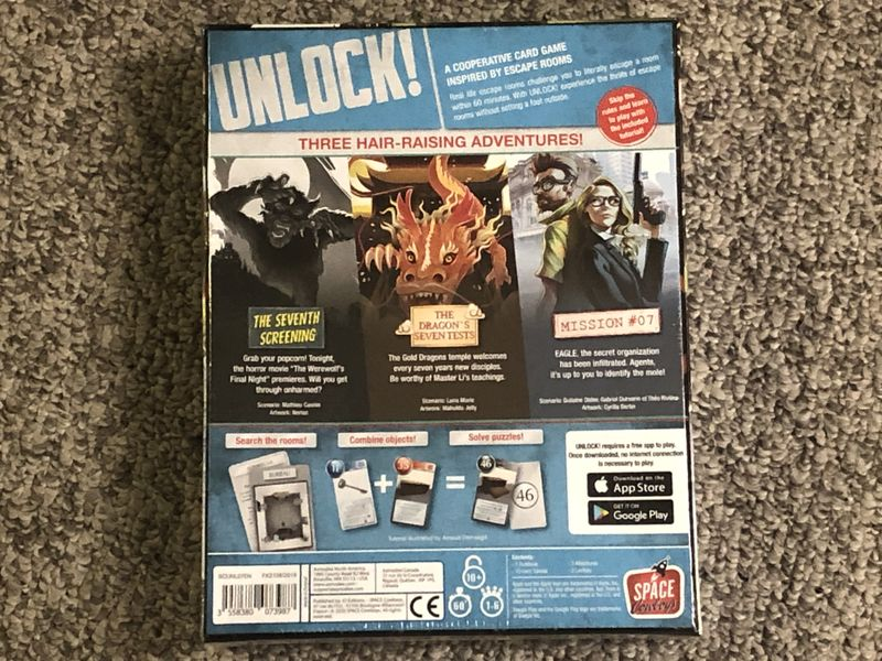 English Edition (Back of Box)