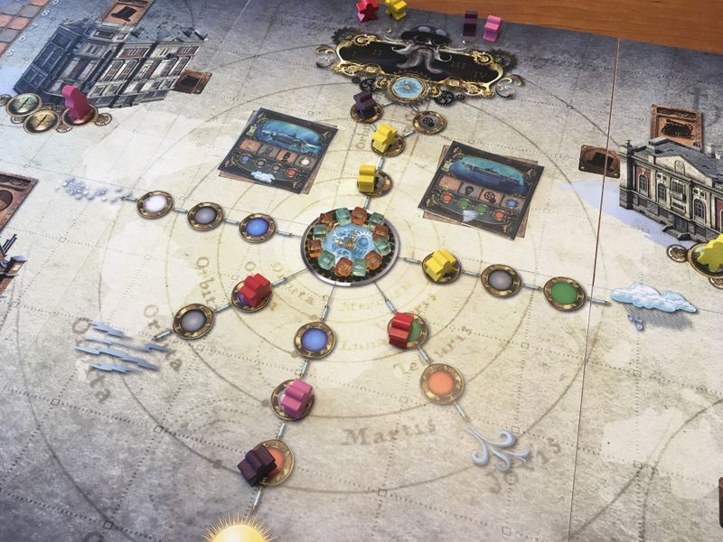 Lista de thevo - Weather machine  juego de mesa