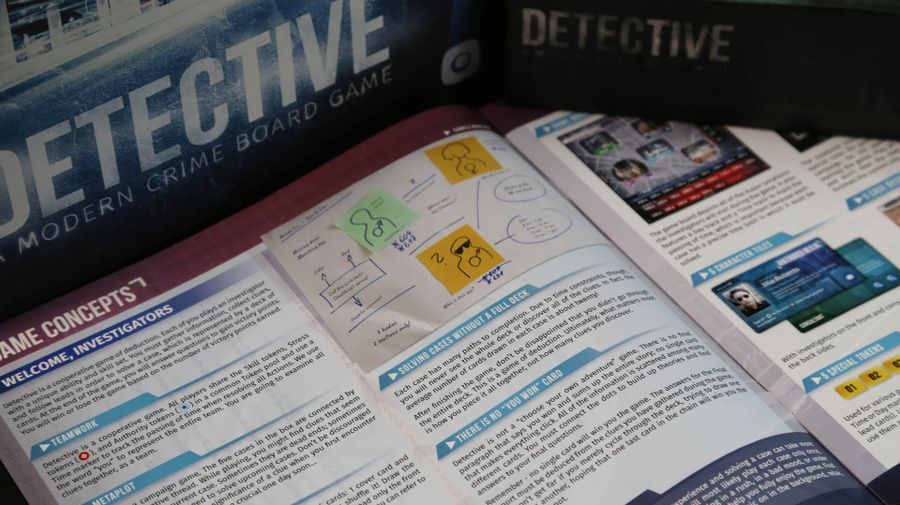 Detective: A Modern Crime Board Game | Image | BoardGameGeek