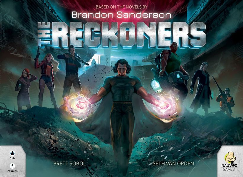 Reckoners Box Cover Front