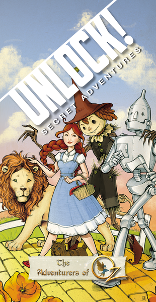 Unlock! The Adventures of Oz, Space Cowboys, 2018 — front cover (image provided by the publisher)