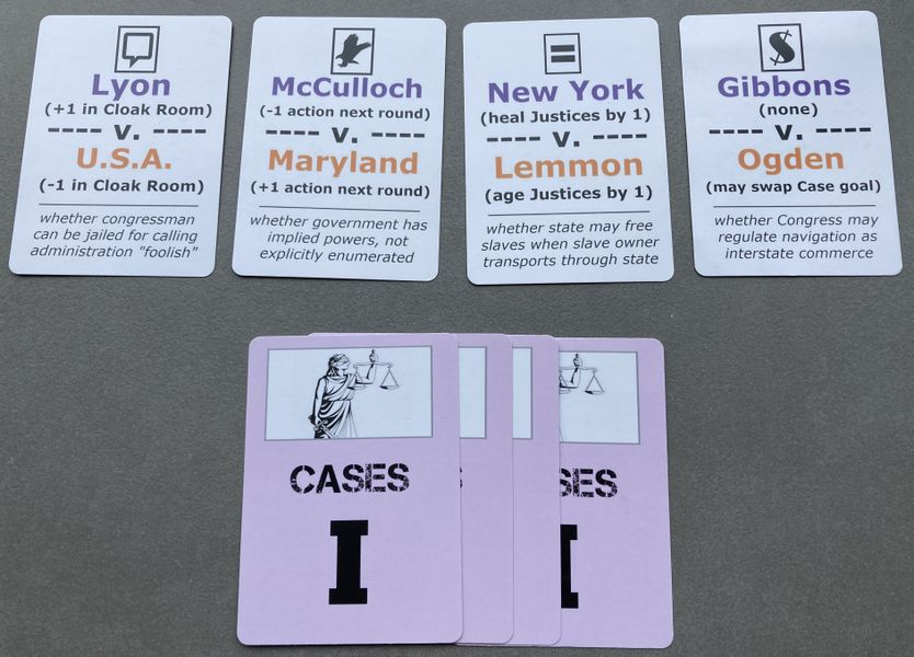 PROTOTYPE: Examples of Age 1 Case cards