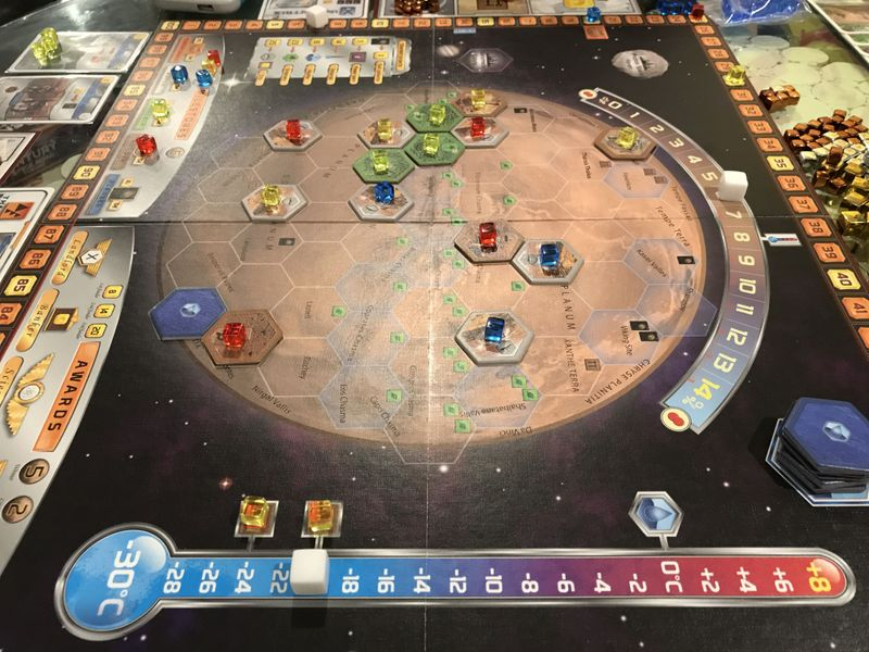 Beginning Rounds of a 3-Player Game