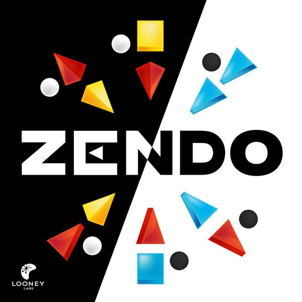 Zendo, Looney Labs, 2017 — front cover (image provided by the publisher)