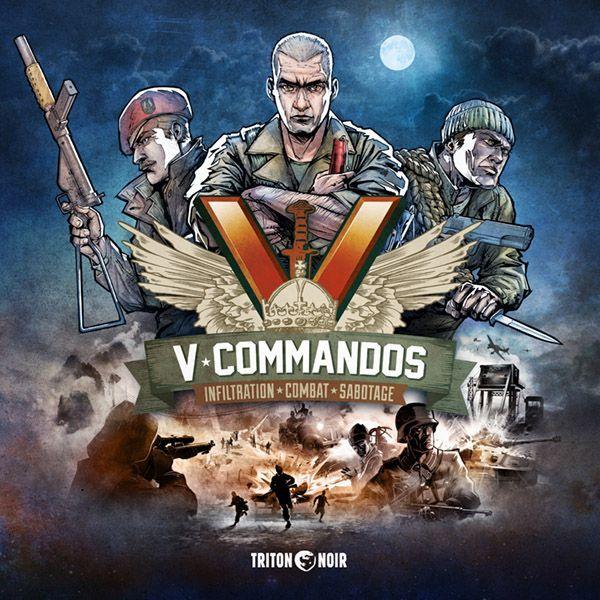 V-Commandos box art