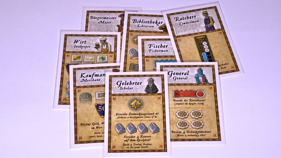 Invasion co-operative Character Cards