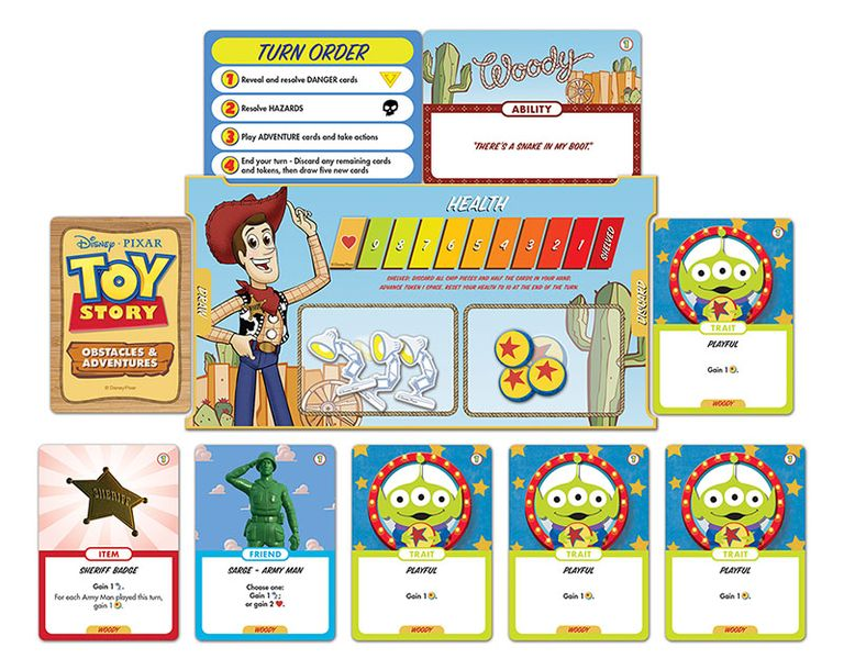 Toy Story: Obstacles and Adventures | Image | BoardGameGeek