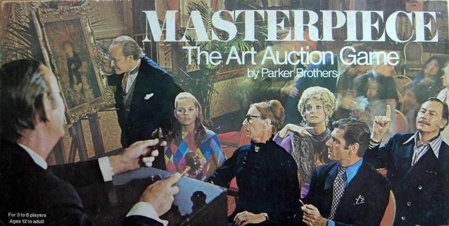 Masterpiece Box Cover, 1970 US version in English