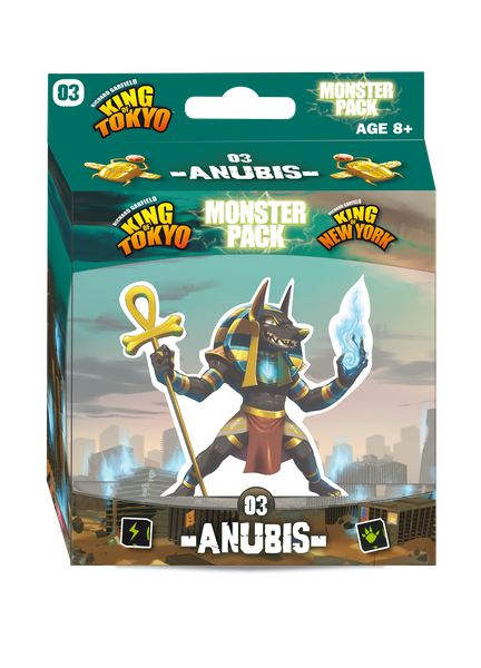 Anubis Monster: King of Tokyo   (T.O.S.) -  Iello