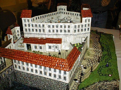 I come by my game accessorization honestly - My mom created this impressive Colditz castle long before I rediscovered board gaming