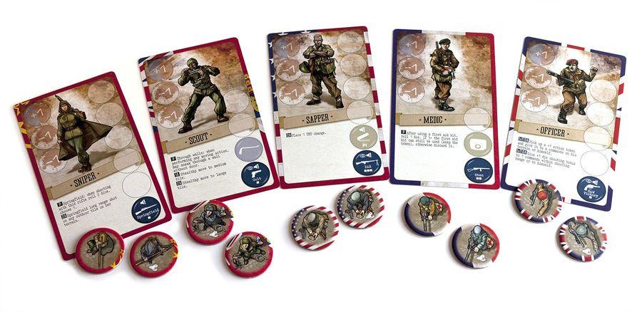 V-Commandos (final version) - the 5 commandos.