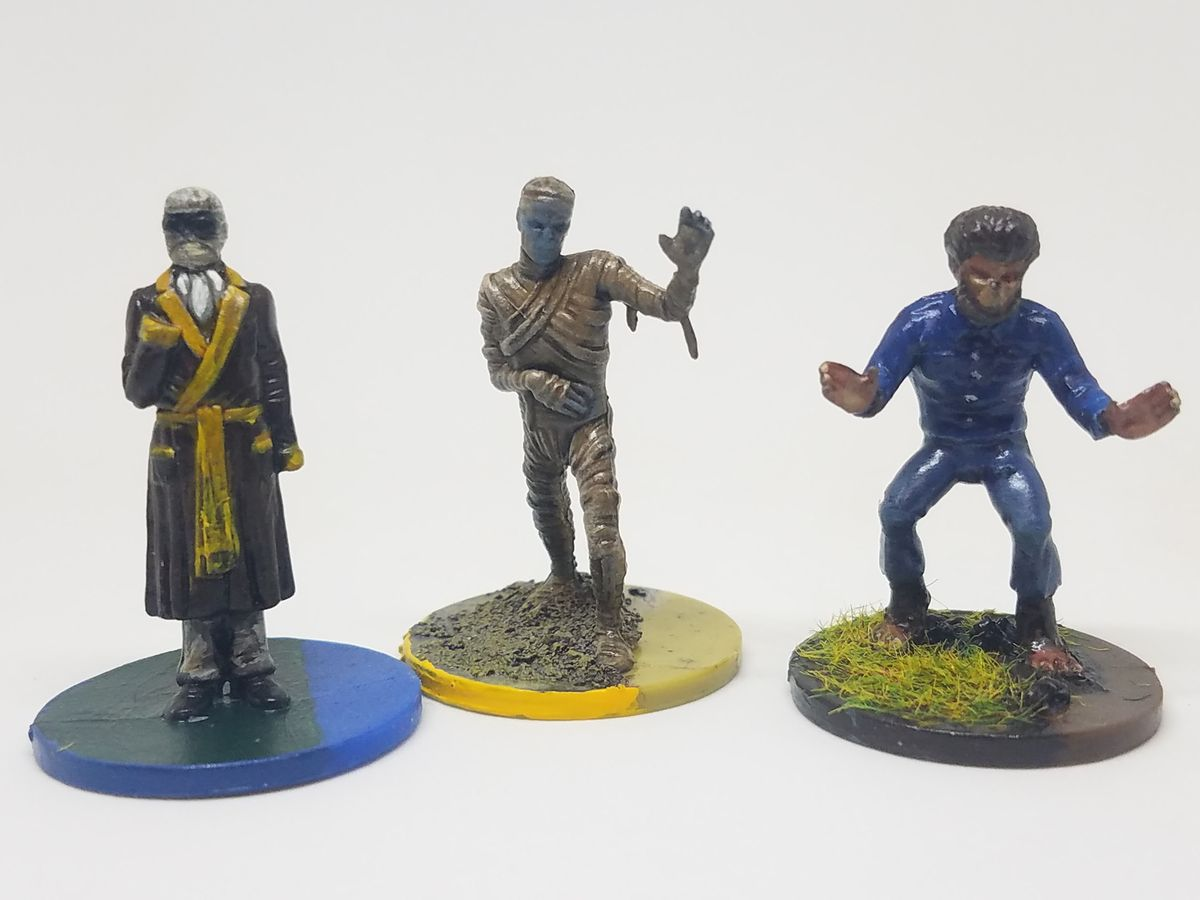 Horrified painted minis