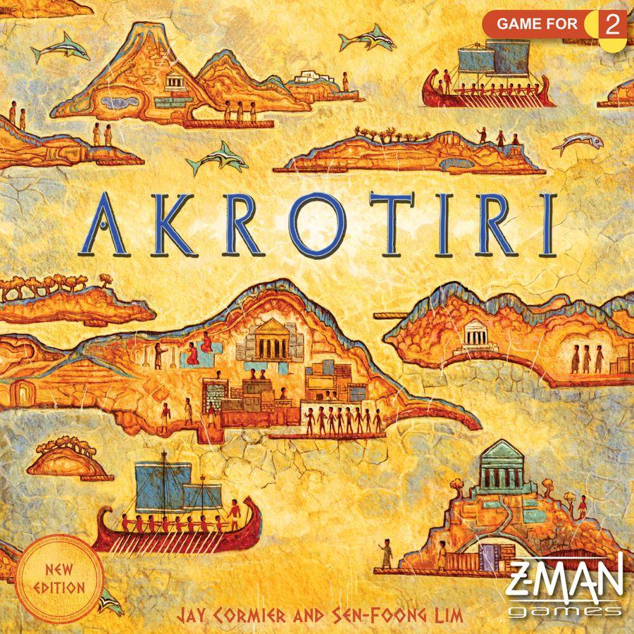 juegos de mesa para 2 - Akrotiri