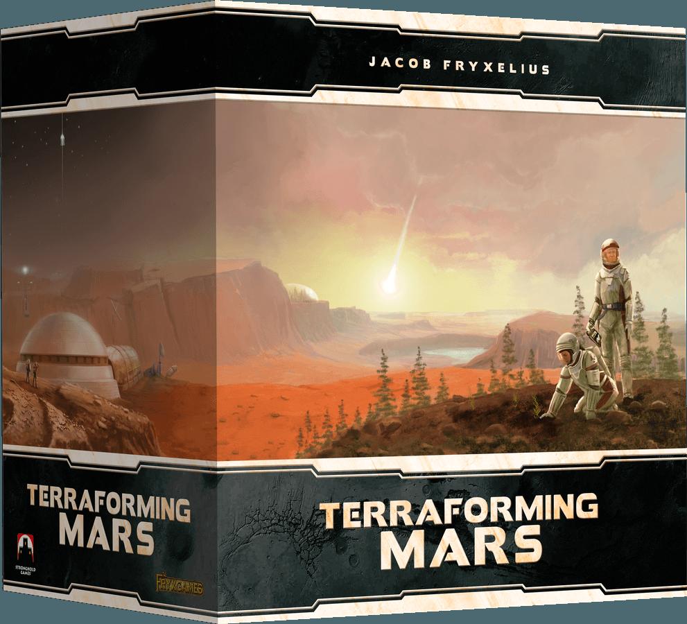 Kickstarter Junio segunda quincena Terraforming mars Big Box en español Maldito Games