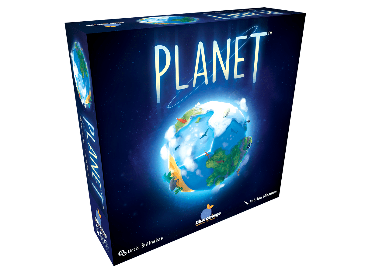 Planet (Blue Orange)