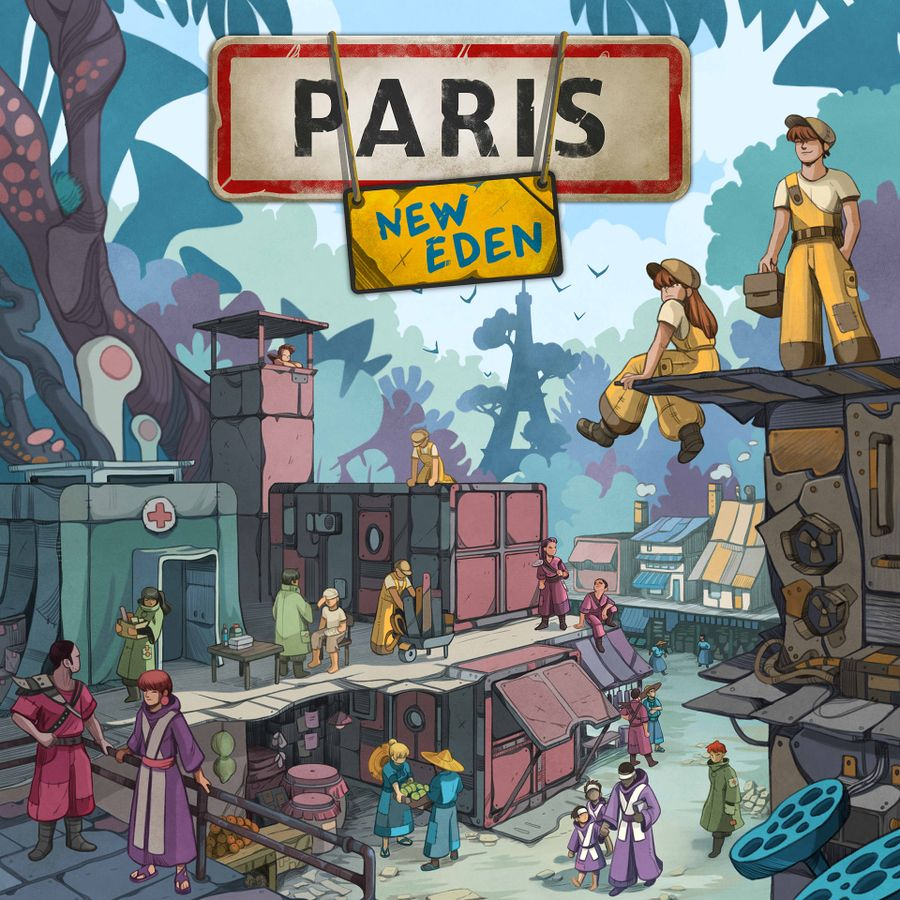 Paris New Eden en español