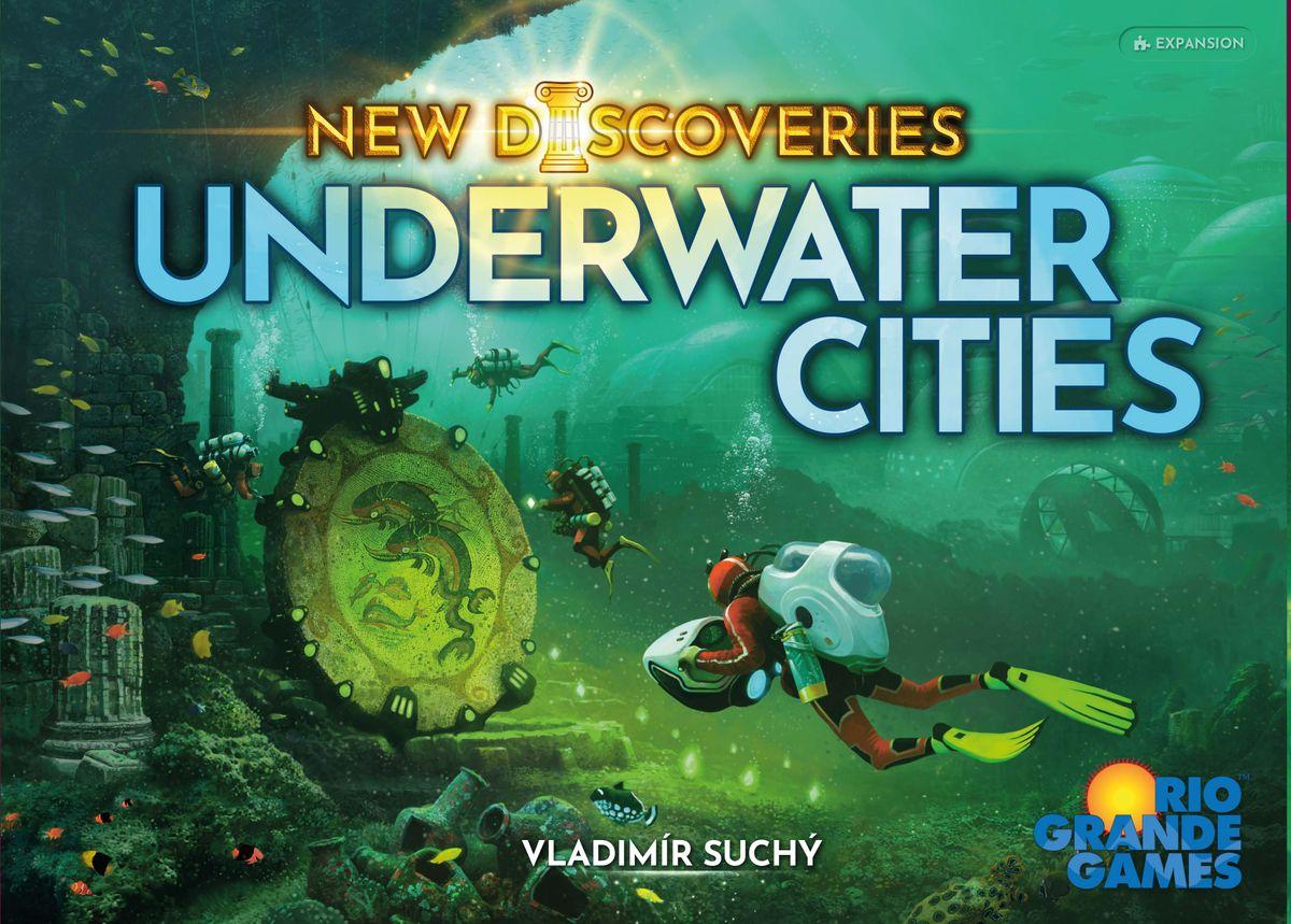 UNDERWATER CITIES expansión - Juegos de mesa