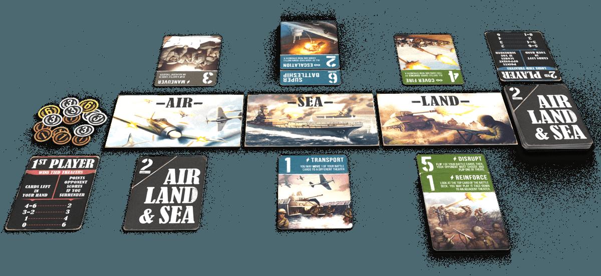 Air, Land & Sea en español