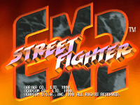 Video Game: Street Fighter EX2