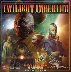 Twilight Imperium: Third Edition – Shattered Empire Cover Artwork