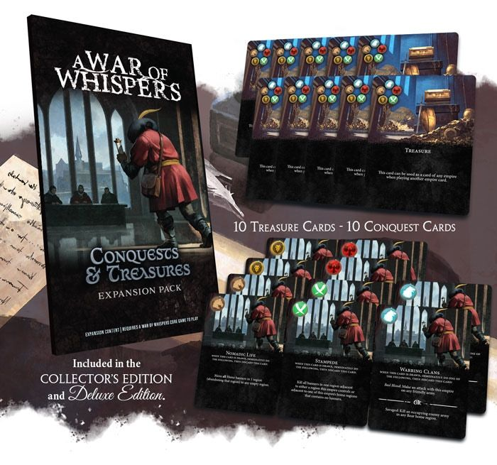 A War of Whispers: Conquests & Treasures