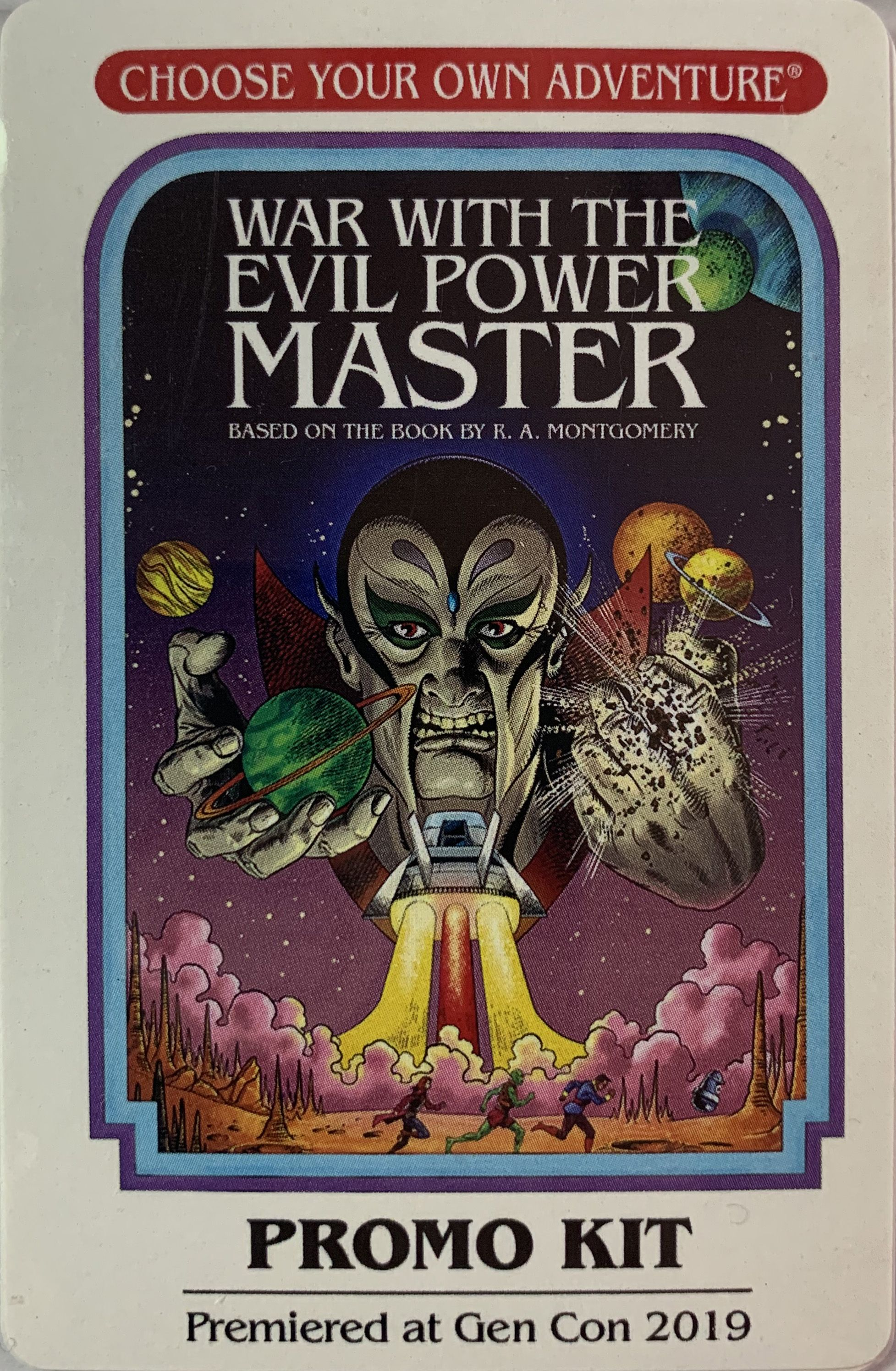 Choose Your Own Adventure: War with the Evil Power Master – Promo Kit: Game Convention