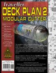 RPG Item: Traveller Deck Plan 2: Modular Cutter