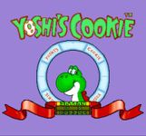 Video Game: Yoshi's Cookie