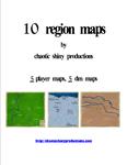 RPG Item: 10 Region Maps