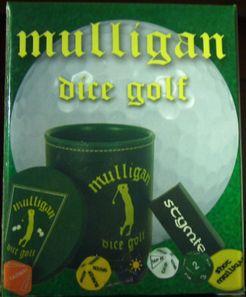 Mulligan Dice Golf Cover Artwork