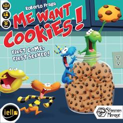 Me Want Cookies!   Board Game   BoardGameGeek