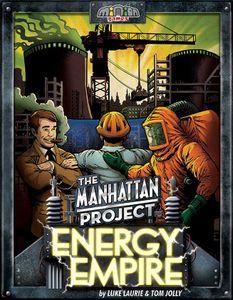 The Manhattan Project: Energy Empire Cover Artwork