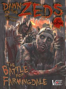 Dawn of the Zeds (Second edition) Cover Artwork