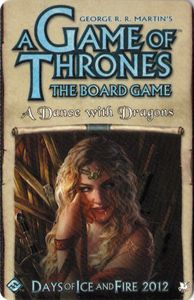 A Game of Thrones: The Board Game (Second Edition) – A Dance with Dragons Cover Artwork
