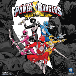 Copertina di Power Rangers: Heroes of The Grid