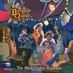 Bargain Quest: The Black Market Expansion Cover Artwork