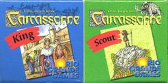 Carcassonne: King & Scout Cover Artwork