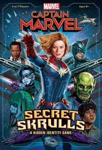 Captain Marvel Secret Skrulls Board Game Boardgamegeek