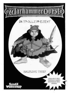 Warhammer Quest: Halbling Dieb