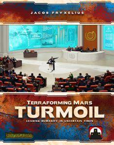 Terraforming Mars: Turmoil Cover Artwork
