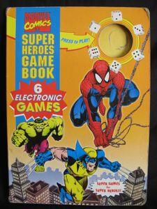 Marvel Comics Super Heroes Game Book   Board Game   BoardGameGeek