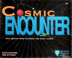 Cosmic Encounter Cover Artwork