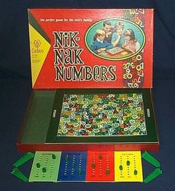 lago golf imperdonable  Nik Nak Numbers | Board Game | BoardGameGeek