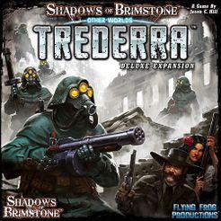 Shadows of Brimstone Trederra Deluxe • OtherWorld Expansion Gesellschaftsspiele