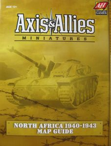 Axis & Allies Miniatures: North Africa 1940 1943 Map Guide   Board