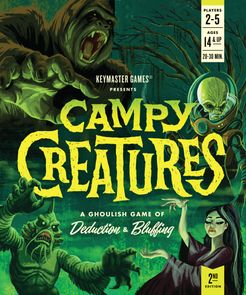Campy Creatures Cover Artwork
